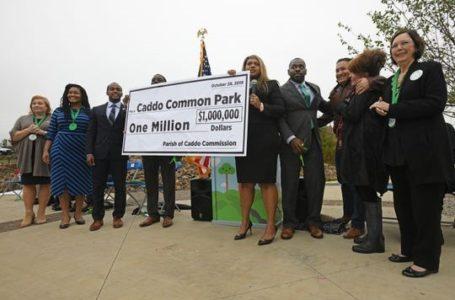 Se abre un espacio verde urbano en el centro de Shreveport