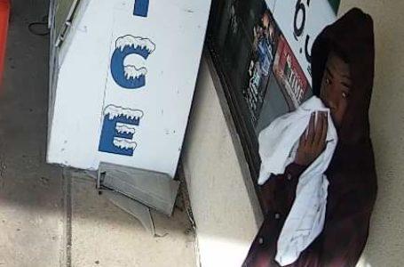 Policía busca sospechoso de robo a mano armada