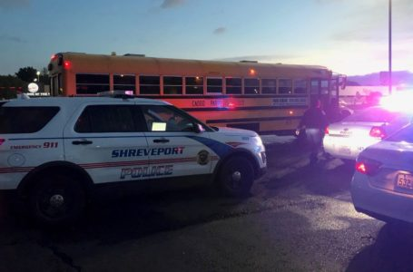 Peatón herido por un autobús escolar de Caddo