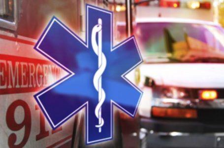 Pasajera en automóvil recibió un disparo en el abdomen
