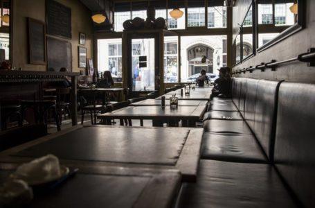 Se ordena cierre de restaurantes, cines y bares