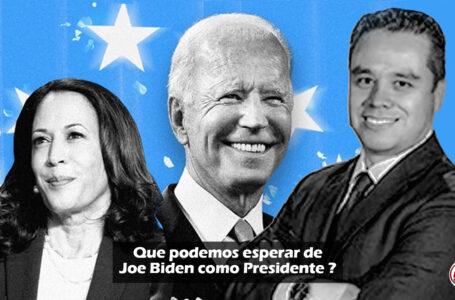 Que podemos esperar de Joe Biden como Presidente?
