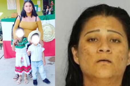 Madre acusada de asesinato por la muerte de sus dos hijos pequeños