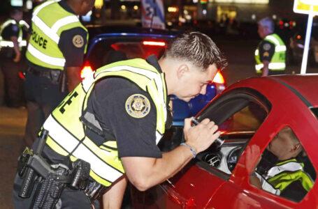 Puesto de control de sobriedad en Bossier City el fin de semana