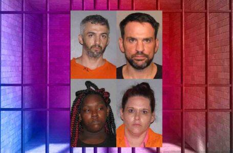Cuatro arrestados por fraude de cheques falsificados