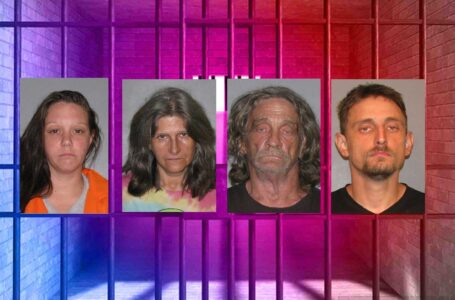 Un menor se recupera de varias quemaduras, cuatro personas fueron arrestadas por drogas y otros cargos