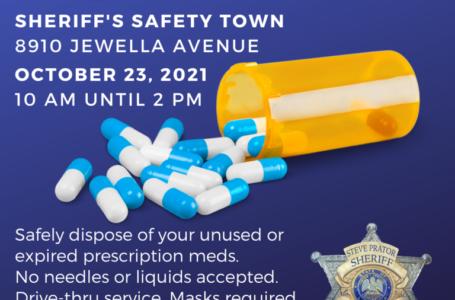 El Sheriff de Caddo será el anfitrión del Día de Devolución de Drogas