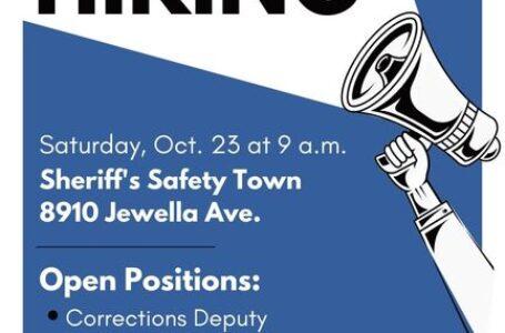 La Oficina del Sheriff de la parroquia de Caddo llevará a cabo un evento de reclutamiento