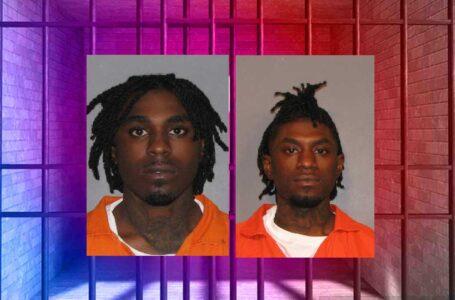 Oficiales de Caddo arrestan a dos hombres tras persecución